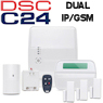 DSC Alexor Dual Path Wireless Security System