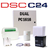 DSC PC1616 PowerSeries Dual Path Hybrid Security System