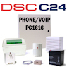 DSC PC1616 PowerSeries VoIP & Phone Line Hybrid Security System