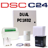 DSC PC1832 PowerSeries Dual Path Hybrid Security System