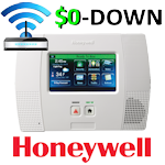 $0-Down Honeywell L5200 Broadband Internet Wireless Security System