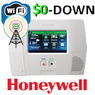 $0-Down Honeywell L5200 Dual-Paths (WiFi & 3G) Wireless Security System