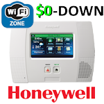 $0-Down Honeywell L5200 WiFi Wireless Security System