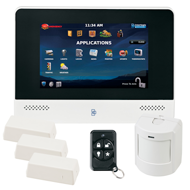 GE AdvisorOne Wireless Security System Kit
