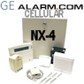 GE NetworX NX-4 Cellular GSM Security System