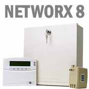 GE NetworX NX-8 Hardwired Security Systems