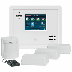 GE Simon XTi Landline Wireless Security System Kit