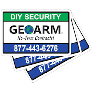 GEOARM� Security Stickers (3-Pack)