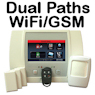 Honeywell L5100 Dual-Paths (Wi-Fi & 3G/4G) Wireless Security System
