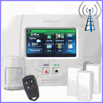 Honeywell L5200 Cellular 3G Wireless Security System