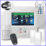 Honeywell L5200 Dual-Paths (WiFi & 3G) Wireless Security System