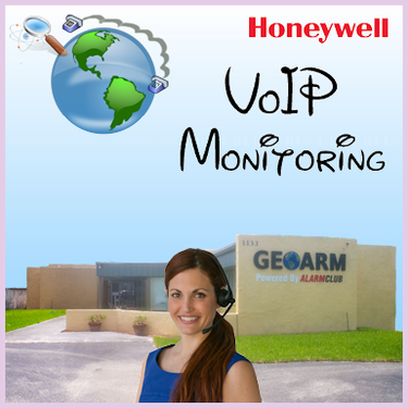 Honeywell VoIP Alarm Monitoring Service