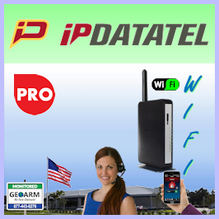 IpDatatel WiFi Interactive Alarm Monitoring Service