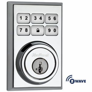 Kwikset Z-Wave Wireless Square Deadbolt (99100)