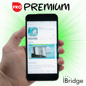 Napco Cellular iBridge Interactive Premium Level Alarm Monitoring w/Daily Test Timer (for AT&T Network)