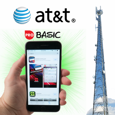 Napco Cellular Interactive Basic Level Alarm Monitoring Services for AT&T