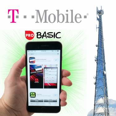 Napco Cellular Interactive Basic Level Alarm Monitoring Services for T-Mobile
