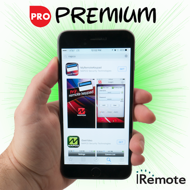 Napco Cellular iRemote Interactive Premium Level Alarm Monitoring w/Daily Test Timer (for AT&T Network)