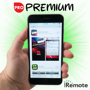 Napco Cellular iRemote Interactive Premium Level Alarm Monitoring w/Daily Test Timer (for T-Mobile Network)