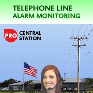 Phone Line Alarm Monitoring Service