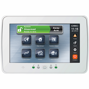 PTK5507 - DSC Touchscreen Wired Alarm Keypad