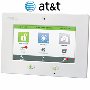 SCW467AT - DSC Touch Wireless Control Panel (for AT&T Network)