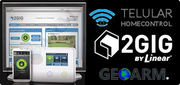 Telular Cellular Interactive Alarm Monitoring Services w/HomeControl for 2GIG Security