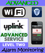 Uplink WiFi Advanced Interactive Alarm Monitoring Service