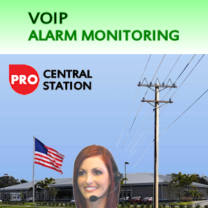 VoIP Alarm Monitoring Service