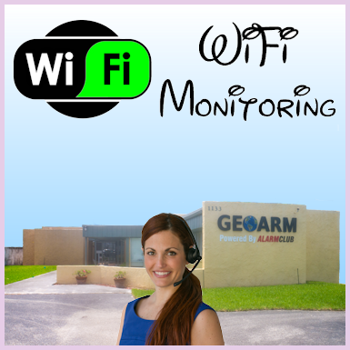 WiFi Interactive Alarm Monitoring
