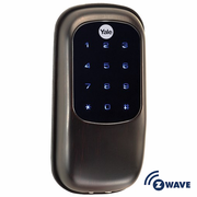 YRD110ZW0BP - Yale Z-Wave Key Free Touchscreen Deadbolt (Bronze)