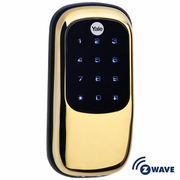 YRD110ZW605 - Yale Z-Wave Key Free Touchscreen Deadbolt (Brass)