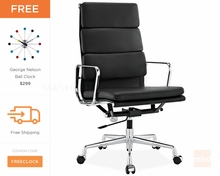Eames Office Chair Replica | Soft Pad Executive Chair