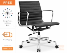 Eames Office Chair Replica | Ribbed Management Chair