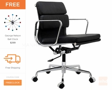 Eames Office Chair Replica | Soft Pad Management Chair