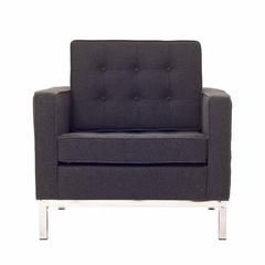 Florence Loft Arm Chair in Wool