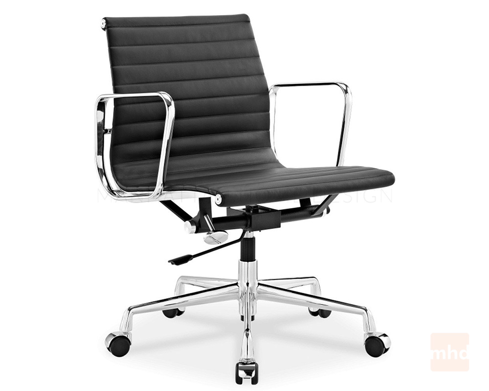 Black and white office chair - Black
