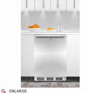 Counter Height Upright Freezer : Accucold VT65ML7BISSHH Counter Height Upright Medical Freezer, Cool ...