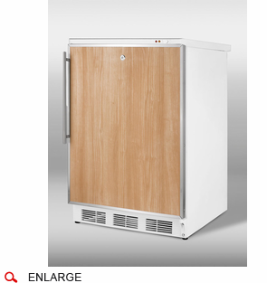 Counter Height Upright Freezer : Counter-Height Freezers Accucold VT65ML7FR Counter Height Upright ...