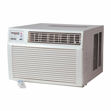 Amana AE183G35AX Window Air Conditioner with Electric Heat, 17,800 BTU, 230/208 Volt, EER Rating of 10.8, Electronic Control with LED Display and Hand Held IR Remote Control, Window Mount Kit Included