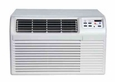 Amana PBH113E35CB 11,500 BTU Through the Wall Air Conditioner with 10,000 BTU Heat Pump and 11,000 BTU Backup Electric Heat, 230/208 Volt, R410A Refrigerant, Digital Controls with Remote Control, Energy Saver Mode, Wall Sleeves Required for New Installations (Sold Seperately)
