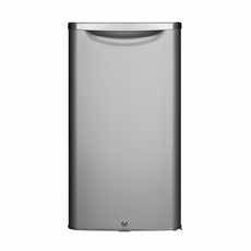 DAR033A6DDB by Danby Classic Design Compact Refrigerator, Retro Stainless Color Metallic Door, Energy Star, 3.3 CF