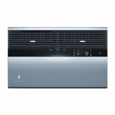 Friedrich Kuhl YM18N34B 18,200 BTU Window Air Conditioner with Heat Pump, 230/208 Volt, 9.9 Energy Efficiency Ratio, Energy Star Rated, 4 Cooling-Fan-Only Speeds, LCD Panel with Remote Control, Heat Pump works until below 40 degrees, No Bakup Electric Heat