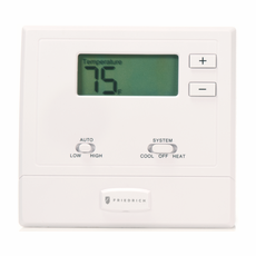 friedrich wrt1 ptac wireless wall thermostat with base module large blue backlighting for