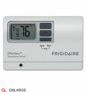 frigidaire 5304482700 ptac wired wall thermostat programmable cool running air conditioners more