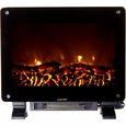 Frigidaire DSF-10302 Dallas Floor Standing Electric Fireplace Heater, Dual Heat Setting, Built-in Overheat Heat Protection with Auto Shut Off, Completely Portable and Flames Operate With or Without Heat with Brightness Control