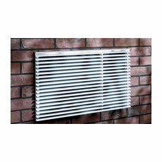 Frigidaire EA109T Stamped Aluminum Grille for TTW Units