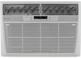Frigidaire FFRH1222Q2 12,000 BTU Room Air Conditioner with 11,000 BTU Electric Heat, 9.8 EER, R-410A Refrigerant, Energy Saver, Remote Control and 230/208 Volts