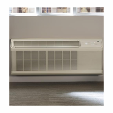 GE Zoneline AZ45E12DAB PTAC Air Conditioner with Electric Heat, 11,800 BTU, 230/208 Volt, EER Rating 11.8, Cords, Wall Sleeves and Grilles Needed for New Installations Sold Separately