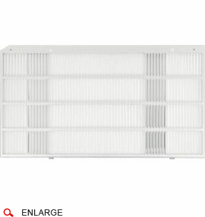 GE RAG13A Through Wall Stamped Aluminum Grille for GE Built-in Series